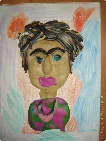Портрет для мамочки Ученица 3-в кл.  фото 1