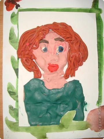 Портрет для мамочки Ученица 3-в кл.  фото 3