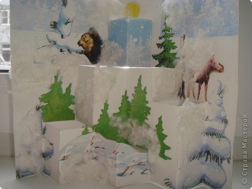 Лес зимой Чекмарев Сергей 3 кл. фото 1