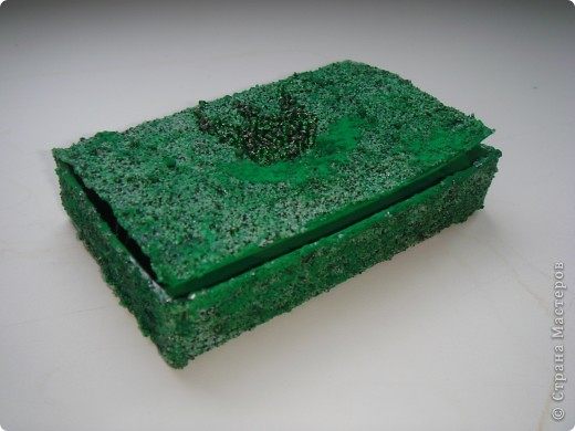 Малахитовая шкатулка поделка 4 класс 50
