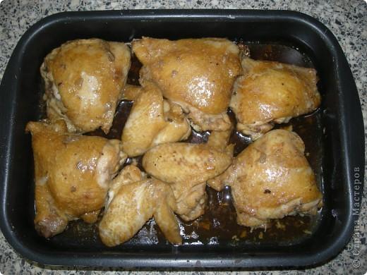 Дорогие Мастера и Мастерицы! Хочу поделиться с Вами простым, быстрым и вкусным способом приготовления курицы. фото 1