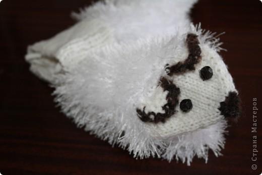 Варежки ёжики фото 1