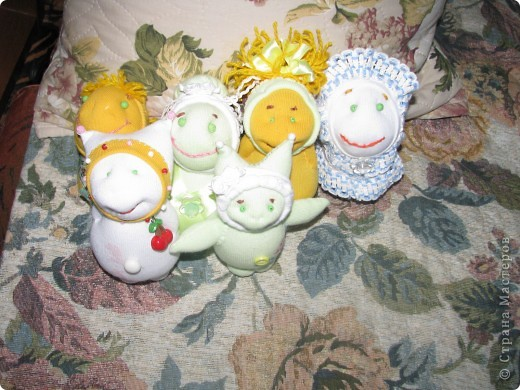 Куколки из носочков)))  фото 1