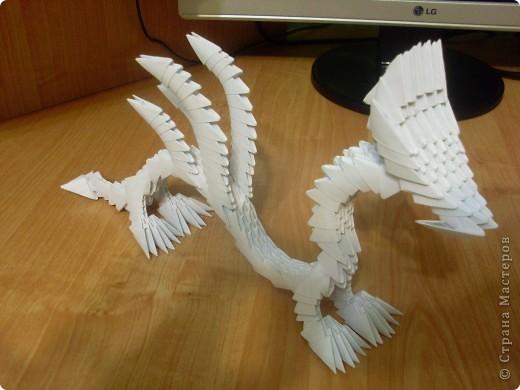 Модульное оригами Дракон фото 1