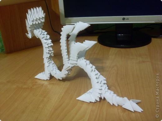 Модульное оригами Дракон фото 3