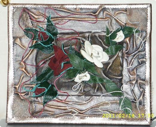 и еще одно панно с розами фото 1