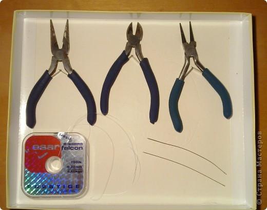 Как и обещала, покажу как создавались вот такие серёжки. фото 2