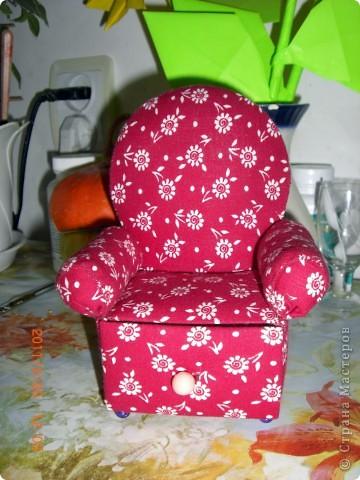Кресло с ящиком)) фото 1