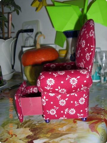 Кресло с ящиком)) фото 4