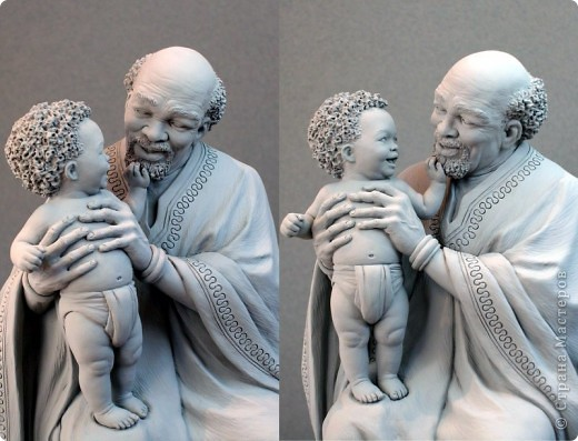 Недавно, шарясь в инете, я наткнулась на скульптуры Марка Ньюмана (Mark Newman), от которых я просто не могла оторвать глаз. Стала искать информацию и ,конечно, захотелось поделиться с кем-то такой красотой. Может быть кому-то в Стране покажется интересными работы этого художника. Немного информации о самом скульпторе: Марк Ньюман родился в Окланде, США, в июне 1962-го года. Художник профессионально занимается скульптурой уже более 19 лет.  А повлияли на его творчество такие мастера как Жан Лорензо Бернини, Микеланджело, Альфонсе Муча и многие другие. Весьма и весьма благотворно повлияли, ведь теперь у Марка есть собственная студия, гордо носящая имя художника: Mark Newman Sculpture Inc. Работая над скульптурами, Марк Ньюман всегда старается выкладываться по полной, и от этого он получает огромное удовольствие. Марк надеется, что таким образом он вдохновит и других художников, и обычных зрителей, созерцающих его работы. Начинающим художникам он советует: побольше практиковаться, побольше рисовать, наблюдать за окружающим миром и исследовать его формы, ведь все, чему надо учиться – все это вокруг нас. Приятного всем просмотра и вдохновения!  фото 11