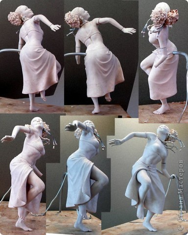 Недавно, шарясь в инете, я наткнулась на скульптуры Марка Ньюмана (Mark Newman), от которых я просто не могла оторвать глаз. Стала искать информацию и ,конечно, захотелось поделиться с кем-то такой красотой. Может быть кому-то в Стране покажется интересными работы этого художника. Немного информации о самом скульпторе: Марк Ньюман родился в Окланде, США, в июне 1962-го года. Художник профессионально занимается скульптурой уже более 19 лет.  А повлияли на его творчество такие мастера как Жан Лорензо Бернини, Микеланджело, Альфонсе Муча и многие другие. Весьма и весьма благотворно повлияли, ведь теперь у Марка есть собственная студия, гордо носящая имя художника: Mark Newman Sculpture Inc. Работая над скульптурами, Марк Ньюман всегда старается выкладываться по полной, и от этого он получает огромное удовольствие. Марк надеется, что таким образом он вдохновит и других художников, и обычных зрителей, созерцающих его работы. Начинающим художникам он советует: побольше практиковаться, побольше рисовать, наблюдать за окружающим миром и исследовать его формы, ведь все, чему надо учиться – все это вокруг нас. Приятного всем просмотра и вдохновения!  фото 9