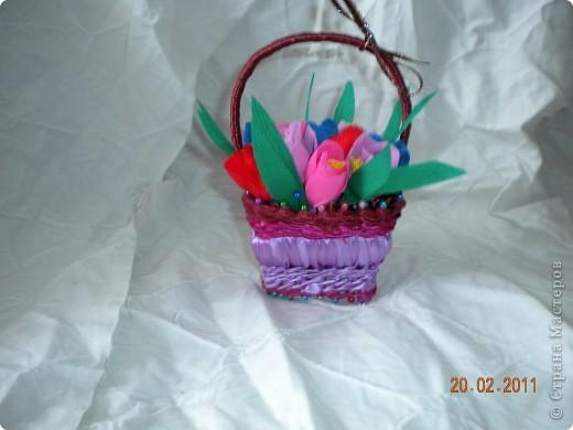 Корзинка с цветочками  =* фото 1