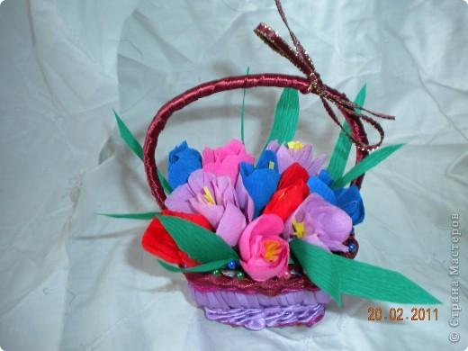 Корзинка с цветочками  =* фото 2