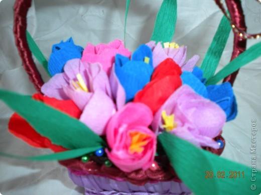 Корзинка с цветочками  =* фото 3