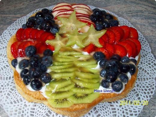 Пирог..Фруктовая фантазия.. фото 1