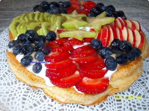 Пирог..Фруктовая фантазия.. фото 7