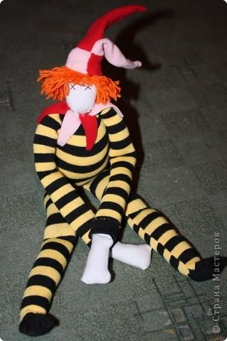 Вот тут( http://stranamasterov.ru/node/89726?tid=1054 ) увидела идею шитья куклы из гетра.  фото 3
