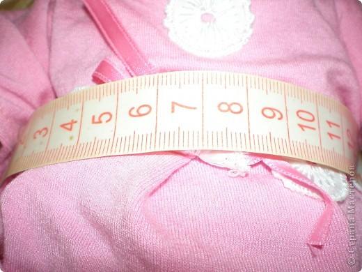 Платье для куклы. Очень просто. фото 5