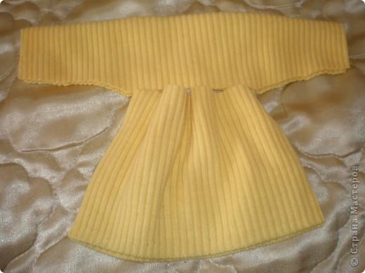Платье для куклы. Очень просто. фото 11