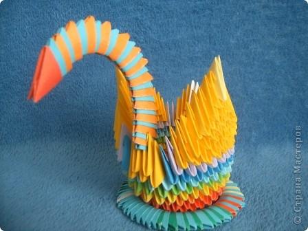 По МК Просняковой Т. Лиза сделала лебедя самостоятельно http://stranamasterov.ru/technic/swan. Я за неё рада очень!