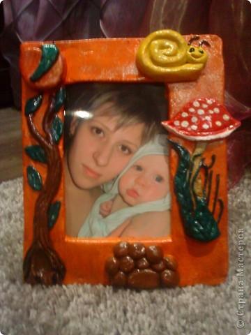 С сынишкой делали первый раз рамочки)))))))) фото 3