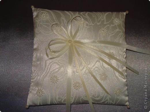Подушки для колец. фото 5