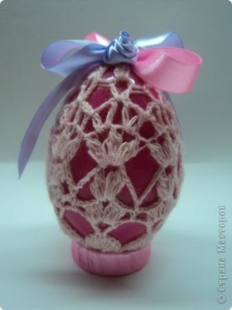 Вязаное яичко к пасхе