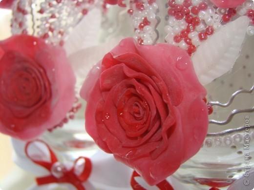 """Бокалы """"Розы"""""""