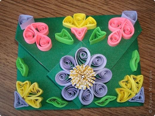 Подарок состоит из тортика (оригами) и конверта для денег. фото 3