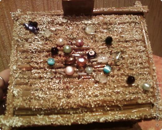 Мои первые работы по плетению корзинок. фото 6
