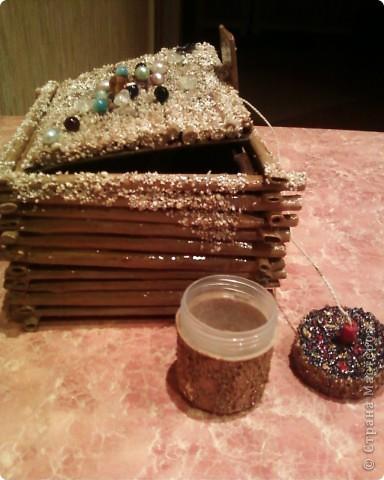 Мои первые работы по плетению корзинок. фото 8