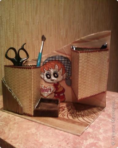 Мои первые работы по плетению корзинок. фото 9