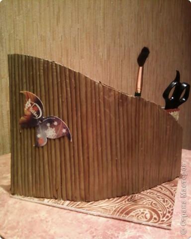 Мои первые работы по плетению корзинок. фото 10