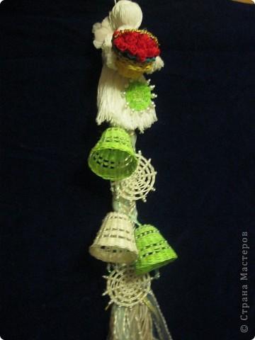 Ёлочные украшения(Ротанг) фото 4