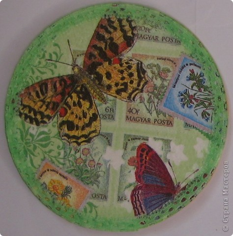 Одна девочка заказала на подарки кучу подставок под кружки... вот, сегодня доделала :) фото 4