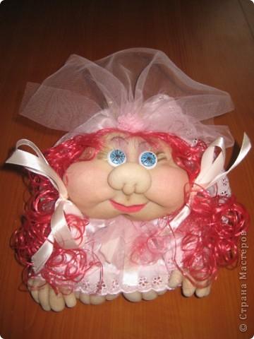 "Кукла-ваза ""Восточная красавица"", скульптурный текстиль.  фото 7"