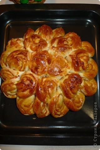 """Недавно, перебирая записи с рецептами, наткнулась на этот, несправедливо забытый, вкусный и очень красивый пирог """"Бабушкина салфетка""""! Рецепт простой! По-балуйте своих любимых)))  фото 4"""