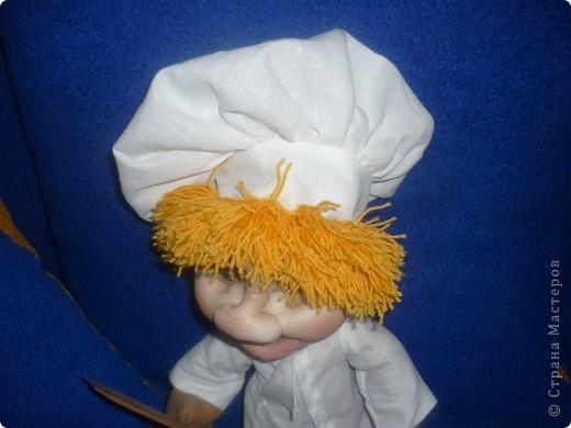 Помощник на кухне - Петя поваренок!Большое спасибо pawy за МК Дашеньки!!! фото 3