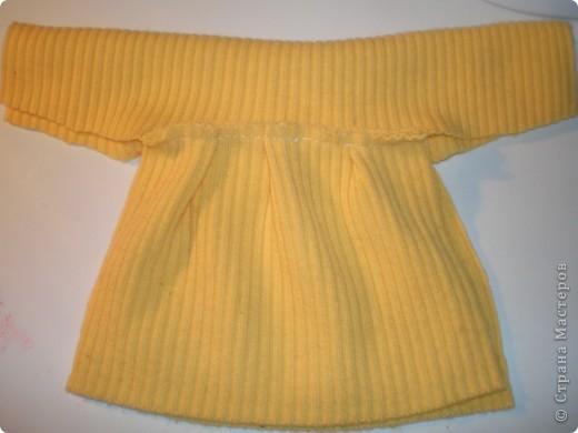 Платье для куклы. Очень просто. фото 13