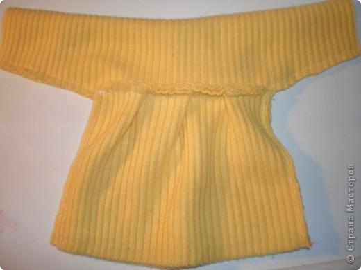 Платье для куклы. Очень просто. фото 14
