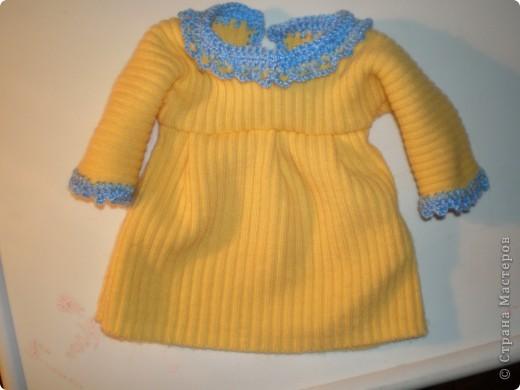 Платье для куклы. Очень просто. фото 19