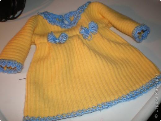 Платье для куклы. Очень просто. фото 1