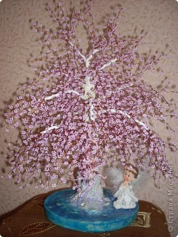 """Бисерное дерево """"НЕЖНОСТЬ"""""""