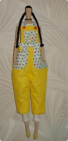 моя первая кукла