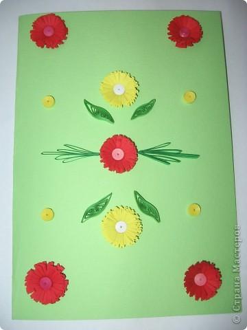 Квиллинг открытки фото 3