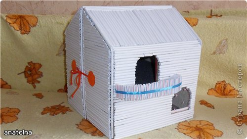 "Домик-""чемодан"" с балконом фото 1"