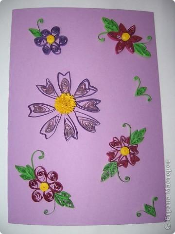 Квиллинг открытки фото 1