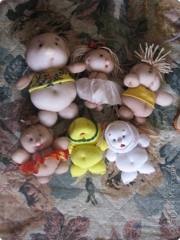куклы из телесных носков фото 1