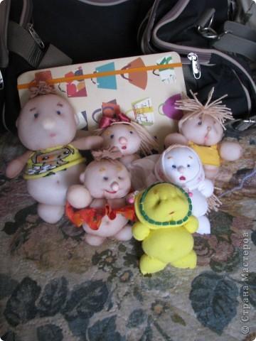 куклы из телесных носков фото 2