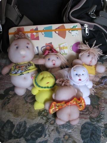 куклы из телесных носков фото 4